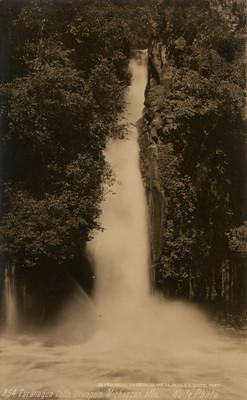 """Cascada de la Tzararacua, """"Zararraqua Falls [sic]"""""""