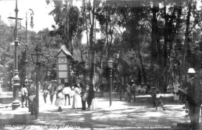 Center of alameda city of México