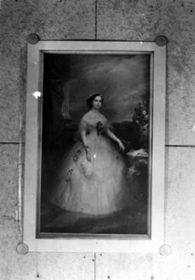 Carlota de Bélgica, retrato al óleo