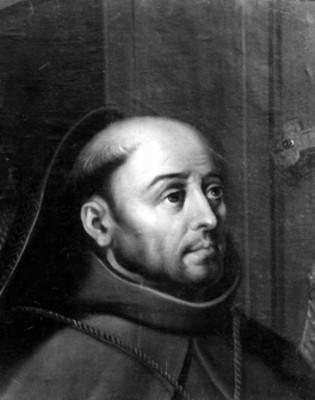 San Antonio de Padua, retrato de óleo
