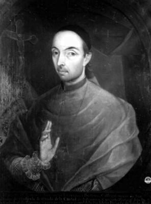 Francisco Antonio de Lorenzana Buitrón, retrato al óleo