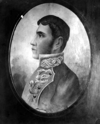Iganacio Aldama, retrato al óleo