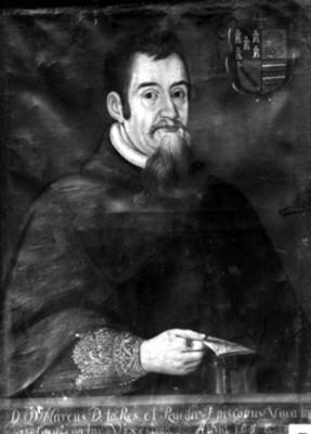 Marcos de Torres y Rueda, retrato al óleo