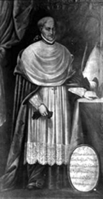 Don Juan de Cervantes, retrato al Óleo