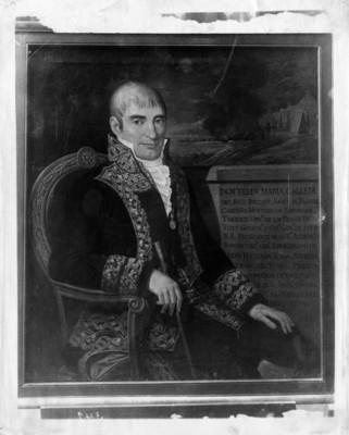 Félix María Calleja, virrey de la Nueva España, retrato al óleo, reproducción