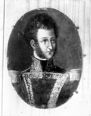 Ignacio Allende, personaje de la Independencia de México, retrato, reproducción