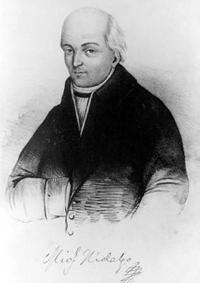 Miguel Hidalgo y Costilla, litografía, reproducción