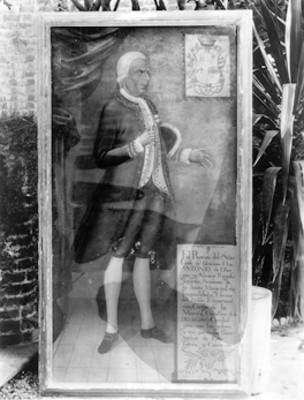Antonio de Obregón y Alcozer, retrato al óleo