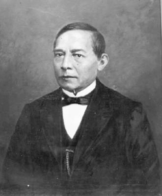 Benito Juárez, retrato al óleo