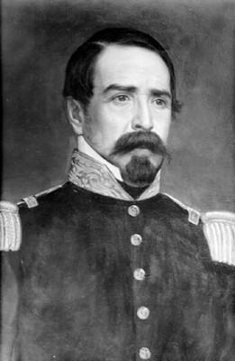 Manuel María Lombardini, retrato al óleo