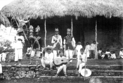Huastecos, músicos y reyes de las danzas, retrato