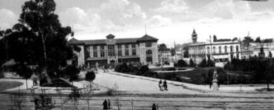 Estación del Ferrocarril Nacional en México