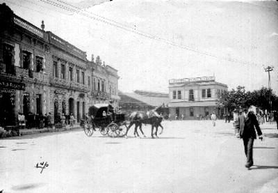 Estación de ferrocarril, panorámica