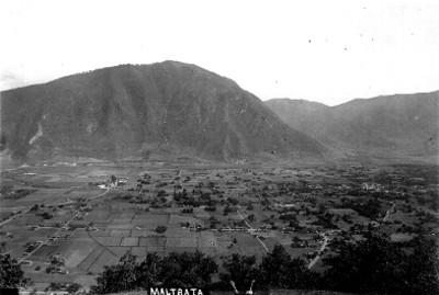 Panorámica del pueblo de Maltrata