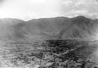 Vista del pueblo de Maltrata