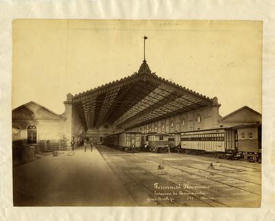 Ferrocarril Mexicano, Estación de Buenavista