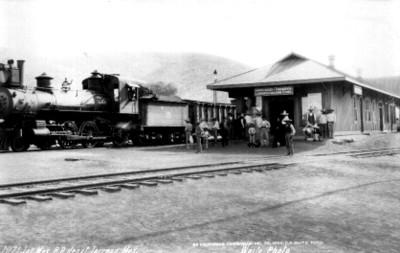"Depósito de Torreón, ""Int. Mex. R.R. depot Torreón, México"""