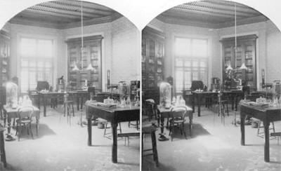 Botica, laboratorio