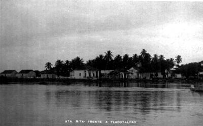 Sta. Rita frente a Tlacotalpan