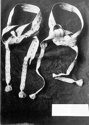 Atadero de seda de Miguel Hidalgo y Costilla en el Museo Nacional de Historia