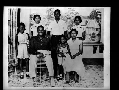 Grupo familiar, retrato de grupo