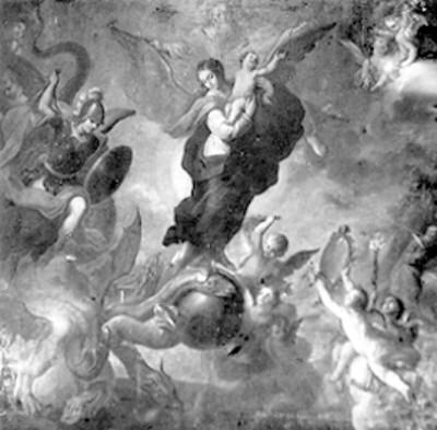 Pintura religiosa, detalle