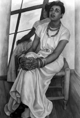 Retrato de Lupe Marín, reprografía