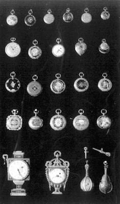 Relojes de bolsillo en diversos modelos, lote