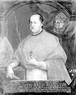 """Juan Antonio de Vizarrón"", sacerdote, pintura"