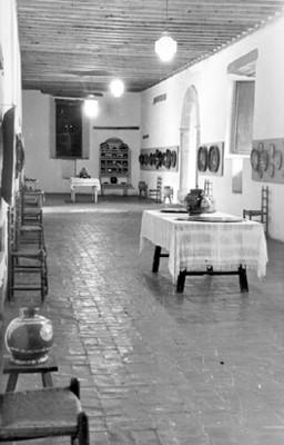 Vista parcial de una sala del museo de Pátzcuaro