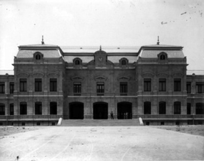Escuela Normal, entrada principal