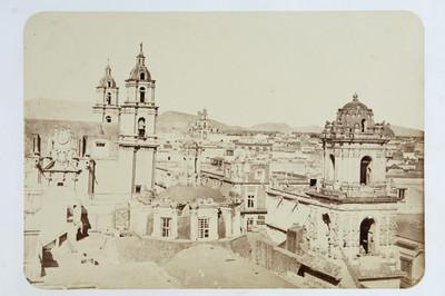 Panorámica de la ciudad de México