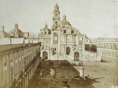 Templo de Santo Domingo, vista panorámica
