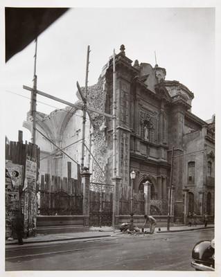 Trabajos de restauración en el templo de San Bernardo