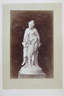 """""""Una brula al amor"""", escultura"""