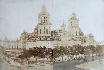 La Catedral de la ciudad de México, vista general