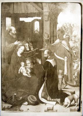 Nacimiento de Jesús, pintura