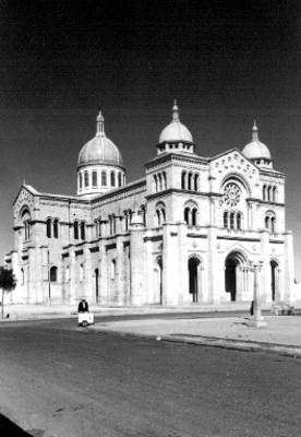"""""""Templo del Sagrado Corazón"""", exterior, vista general, tarjeta postal"""