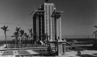 """Edificio del """"Banco de México"""", panorámica"""