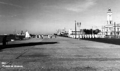 """""""Malecón de Veracruz"""", vista parcial"""