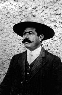 Hombre con sombrero, reprografía