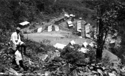"""""""Campamento de Tenaguillo"""", panorámica"""