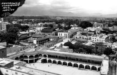 Ciudad de Cuernavaca, vista panorámica