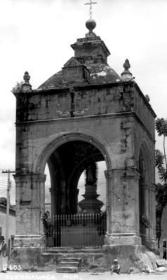 El Calvario, Cuernavaca, fachada