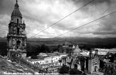 Catedral de Cuernavaca, vista parcial
