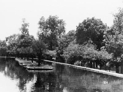 Jardín Borda, vista parcial