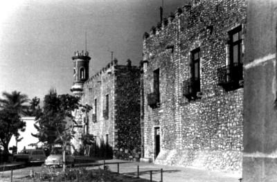 """""""Palacio de Cortés-Museo de Cuauhnáhuac (INAH)"""", vista lateral"""