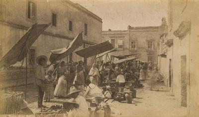 "Mercado al aire libre ""6284. Mexico. Street market"""