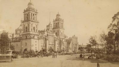 """""""2. Catedral de México"""", fachada"""