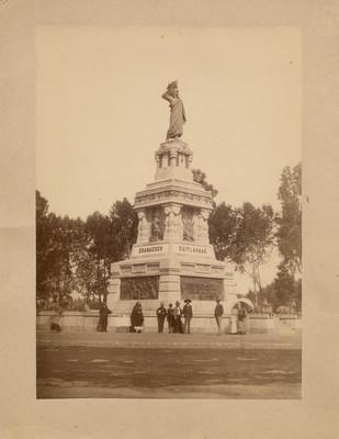 Monumento a Cuauhtémoc en Paseo de la Reforma